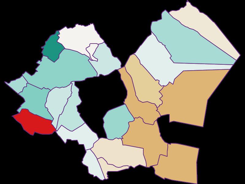 Population development since 2011 in Eisenstadt-Umgebung