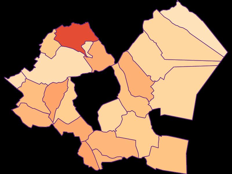 Household size in Eisenstadt-Umgebung