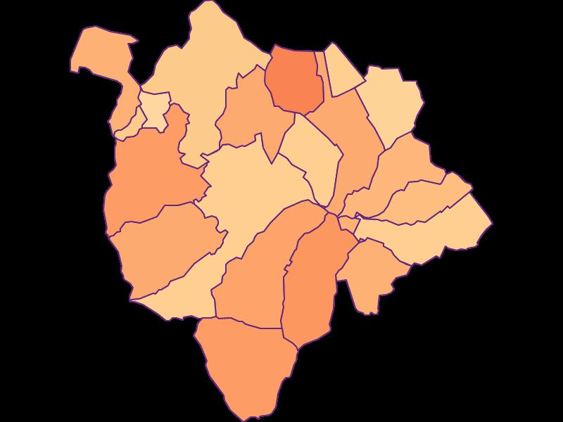 Размер домохозяйства в Mattersburg