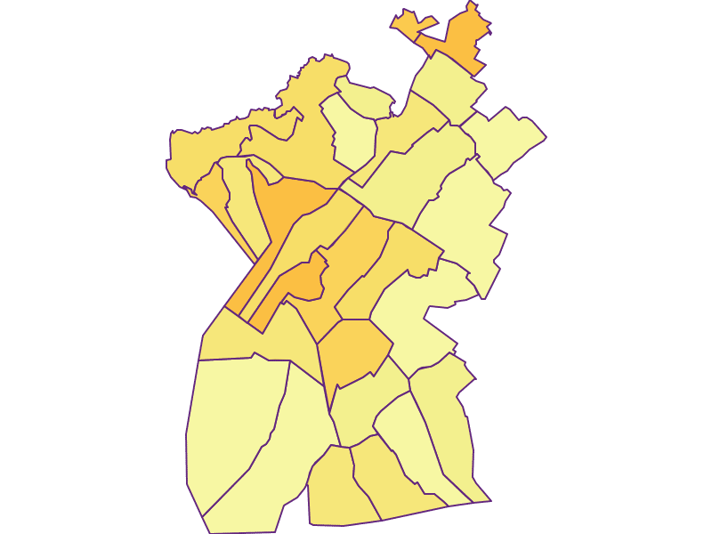 Population density in Neusiedl am See