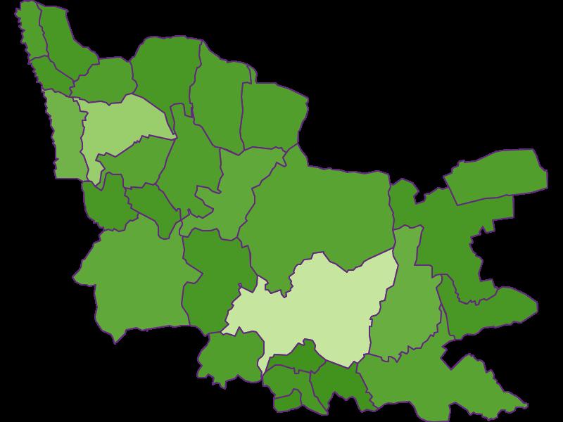 Заселенность в Güssing