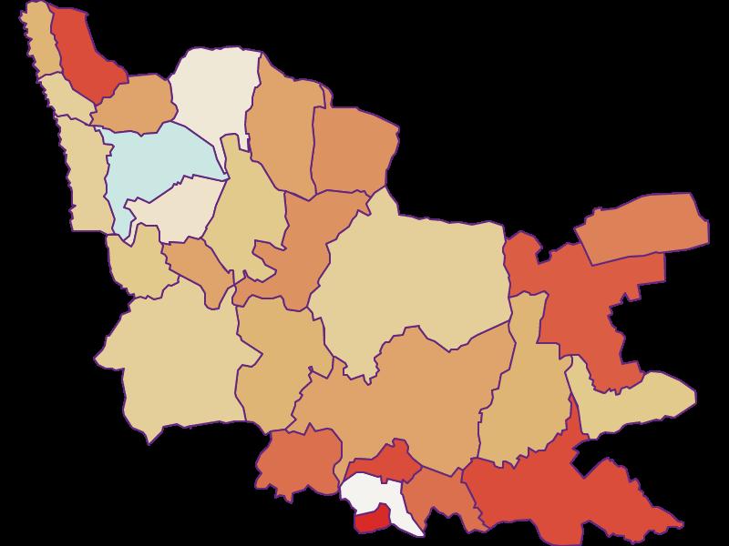 Демография с 2011 года в Güssing