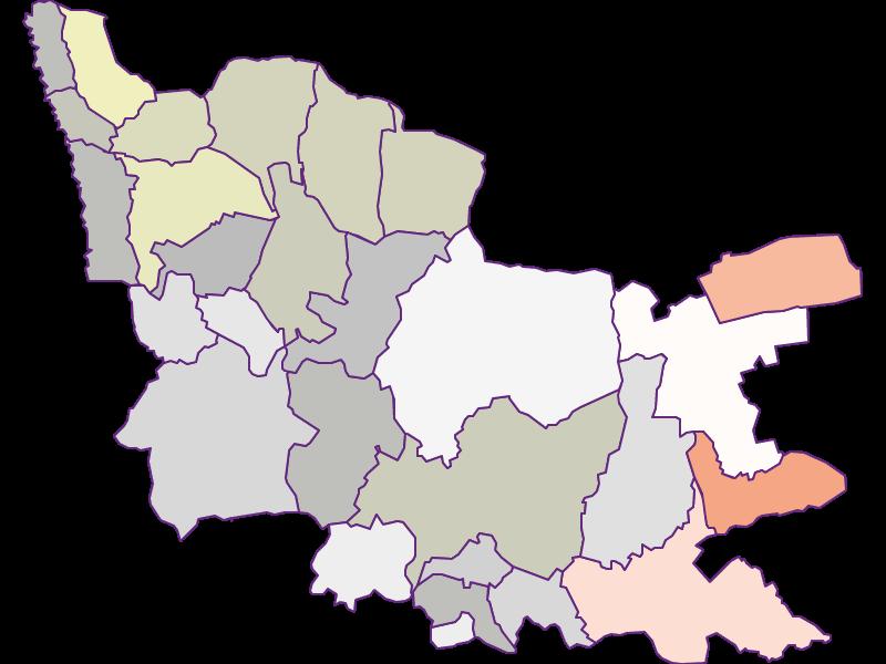 Фермеры (сравнение по Фед. землям) в Güssing