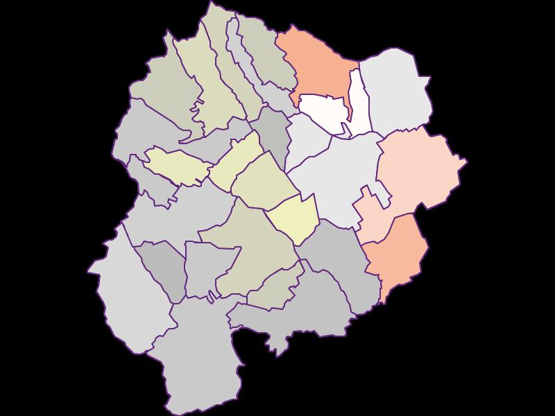 Farmers (comparison to Austria) in Oberpullendorf