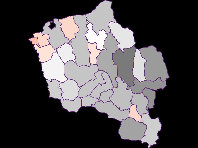 Activity rate in Oberwart