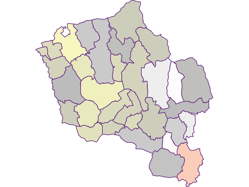 Farmers (comparison to federal state) in Oberwart