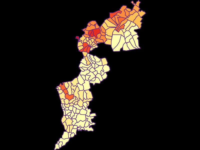 Urbanität: Burgenland - Österreich - Geographie, Wirtschaftskunde, Statistik | Similio