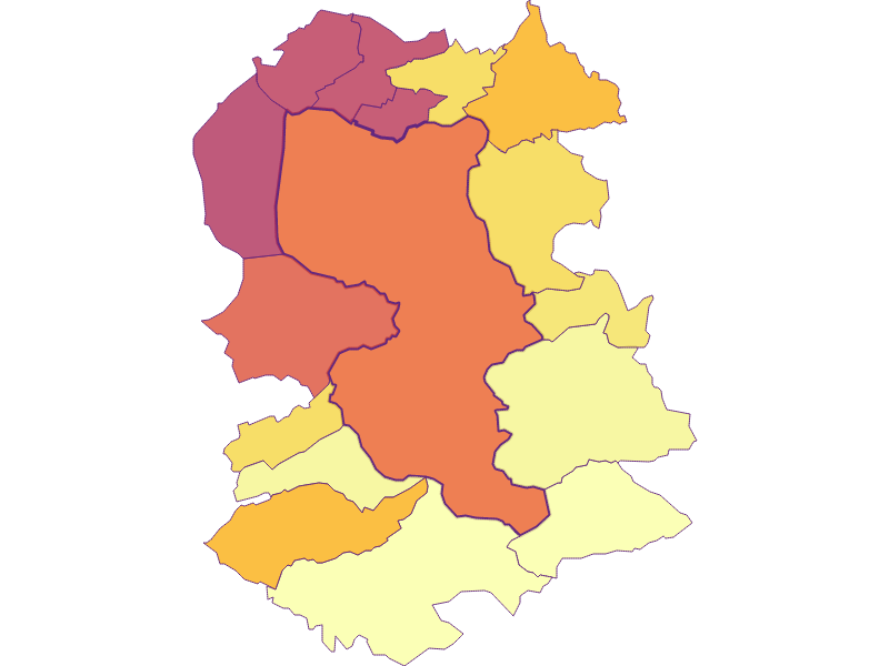 Плотность населения | Dornbirn