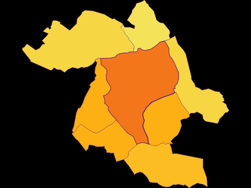 Population density in Eisenstadt