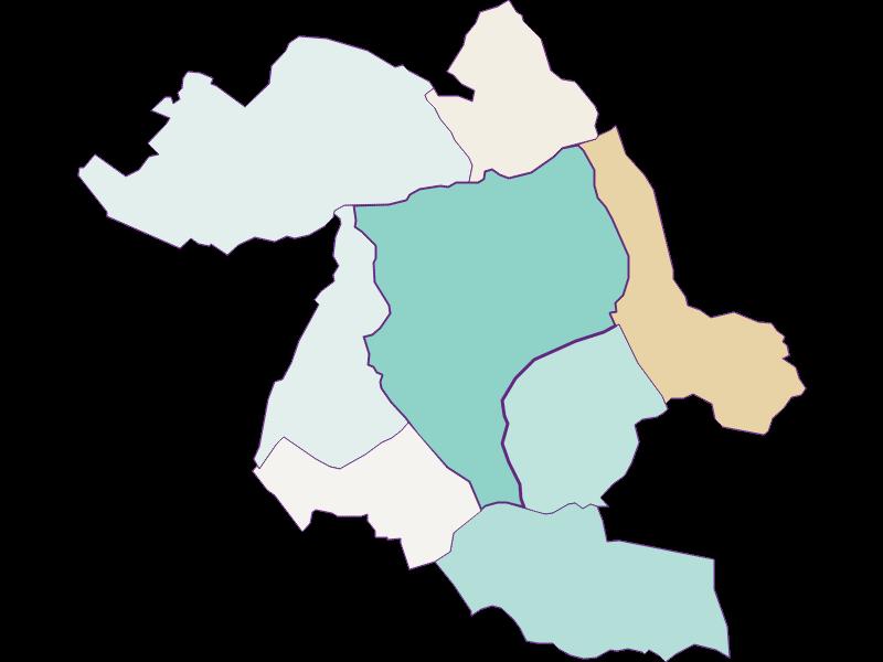 Population development since 1869 in Eisenstadt