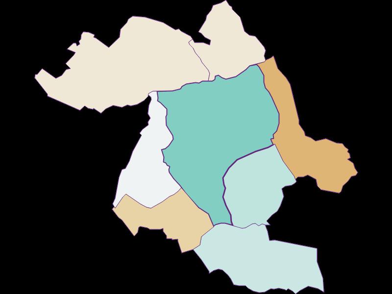Population development since 1900 in Eisenstadt