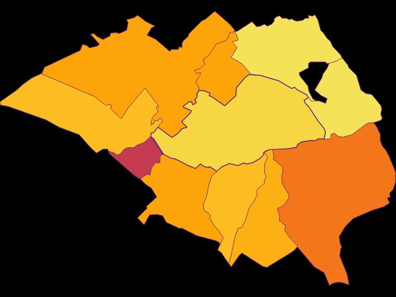 Плотность населения в Hornstein