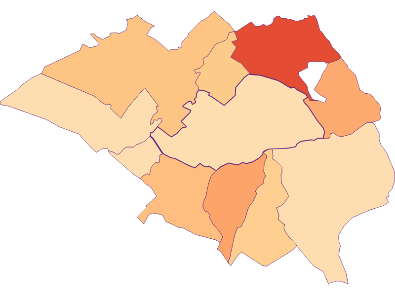Размер домохозяйства в Hornstein
