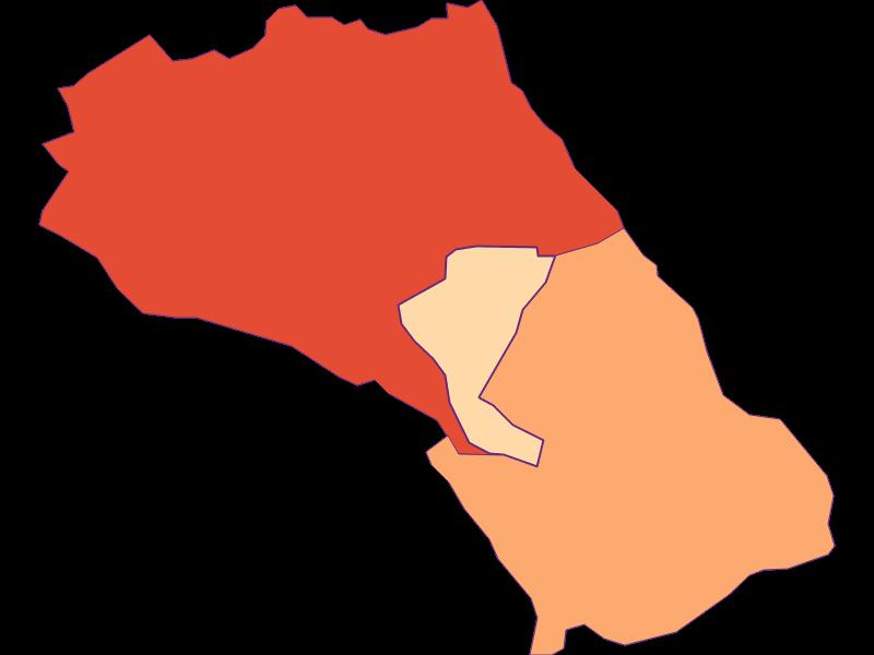 Размер домохозяйства в Loretto