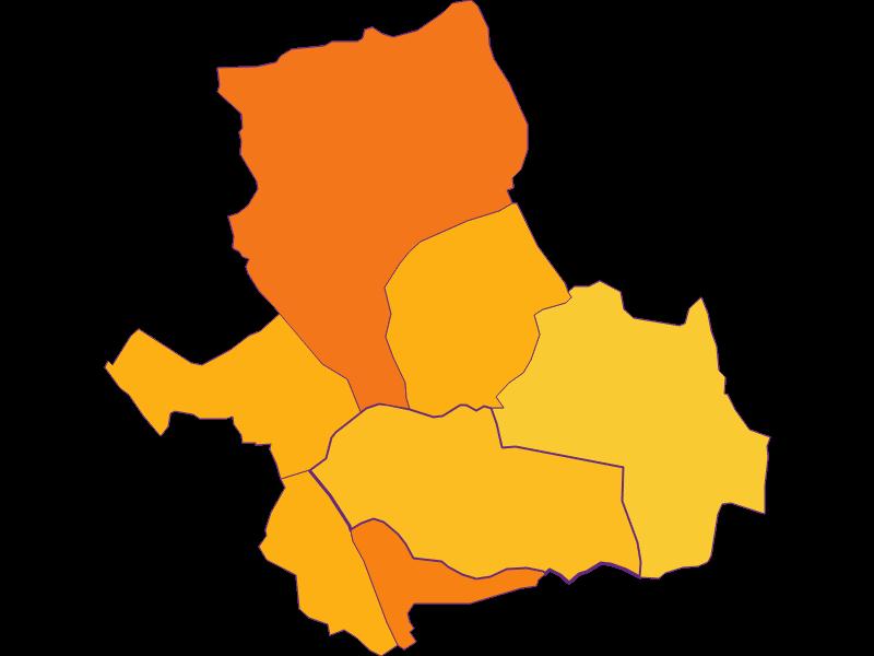 Population density in Siegendorf