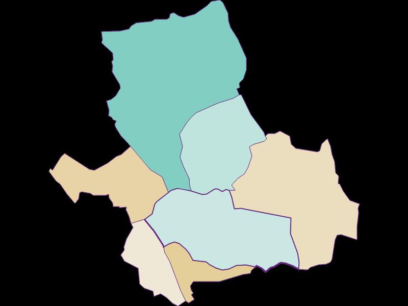 Population development since 1900 in Siegendorf