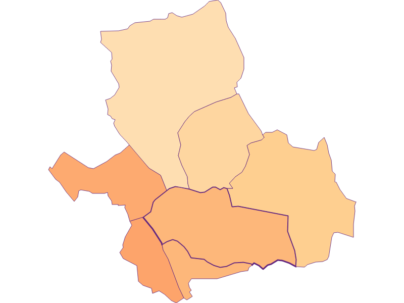 Household size in Siegendorf