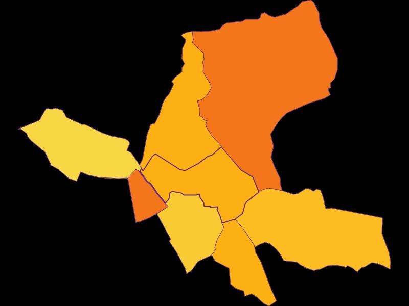 Плотность населения в Wulkaprodersdorf