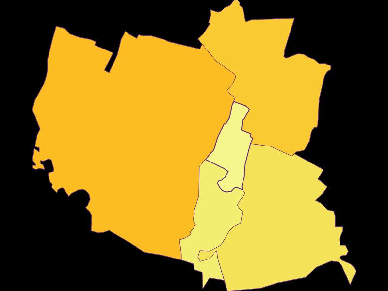 Population density in Andlersdorf