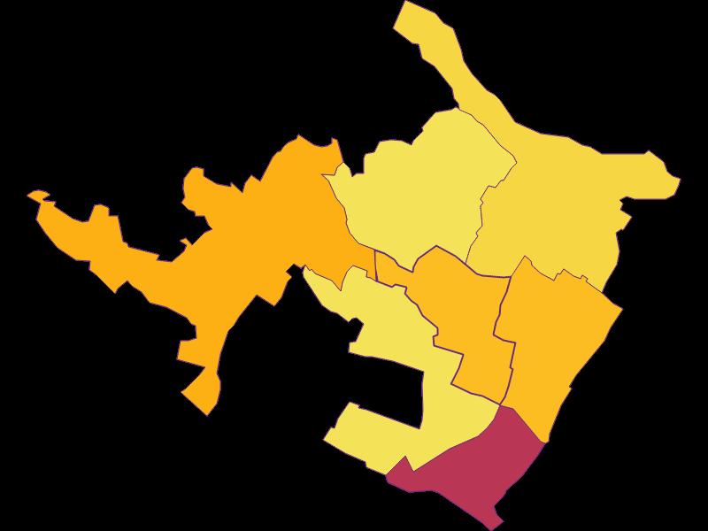 Population density in Auersthal