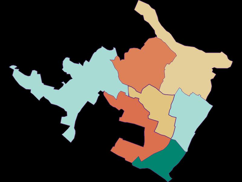 Population development since 1900 in Auersthal