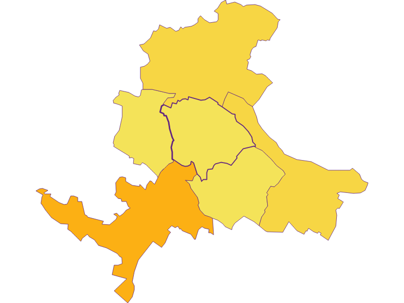 Population density in Bad Pirawarth