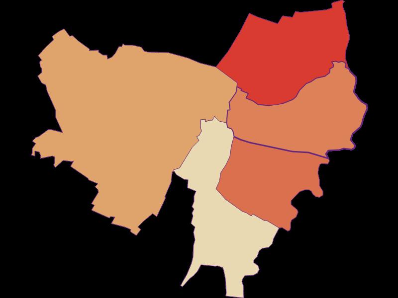 Population development since 1869 in Drösing