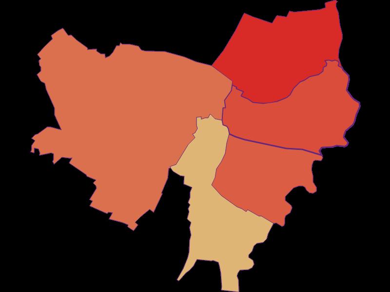 Population development since 1900 in Drösing