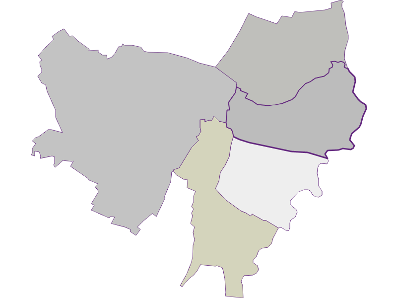 Farmers (comparison to federal state) in Drösing