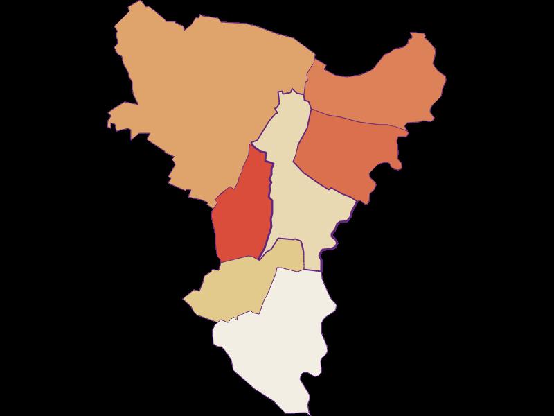 Population development since 1869 in Dürnkrut