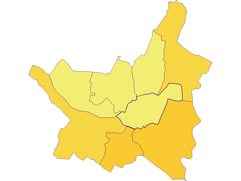 Population density in Ebenthal