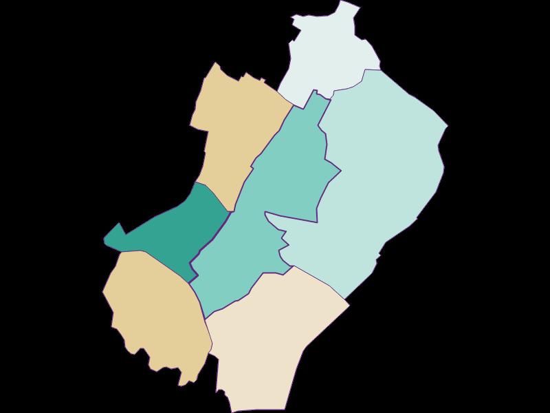 Population development since 2011 in Gänserndorf
