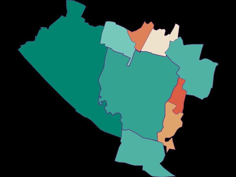 Population development since 1869 in Groß-Enzersdorf