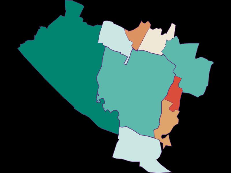 Population development since 1900 in Groß-Enzersdorf