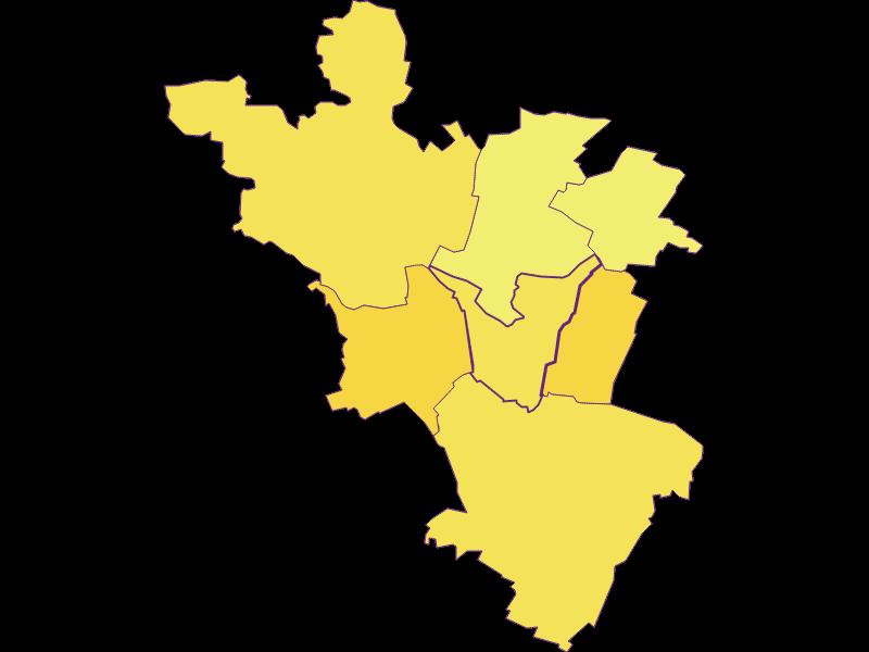 Population density in Hauskirchen