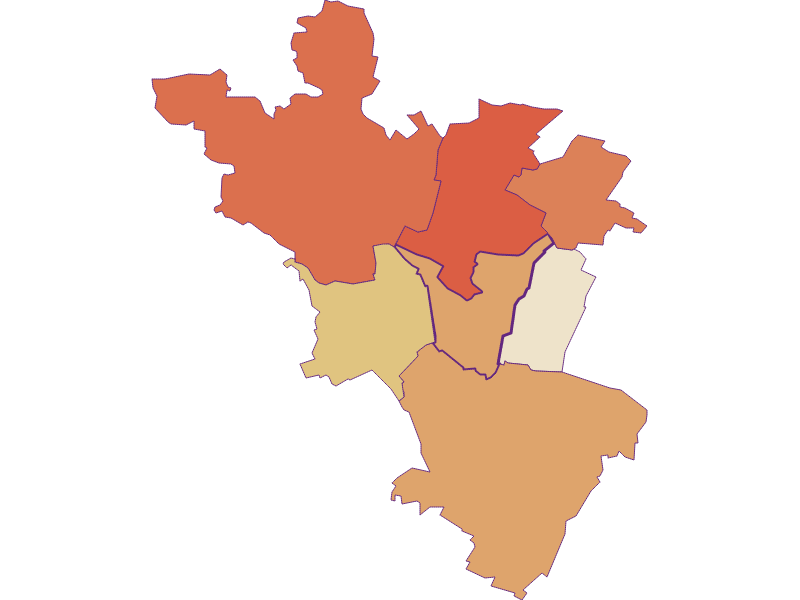 Population development since 1869 in Hauskirchen