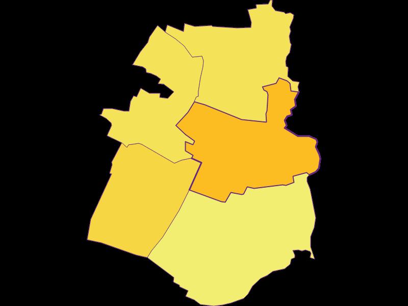 Population density in Hohenau an der March