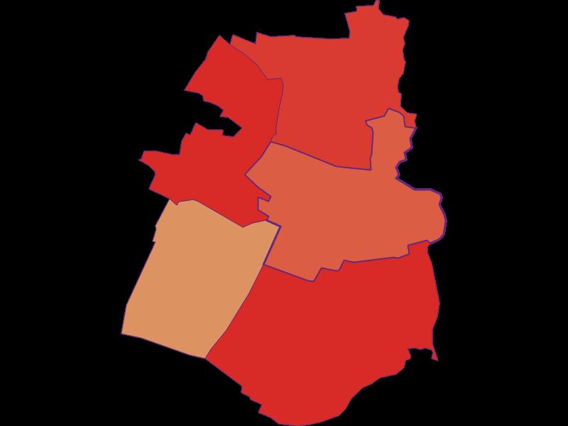 Population development since 1900 in Hohenau an der March