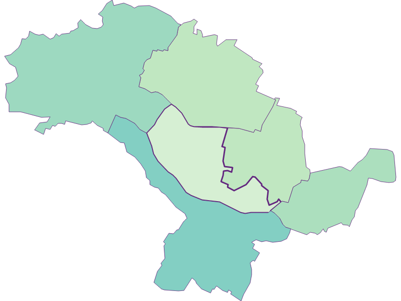 Share of foreigners in Hohenruppersdorf