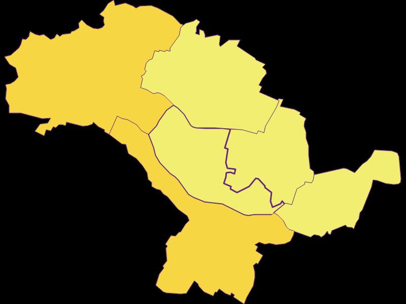 Population density in Hohenruppersdorf
