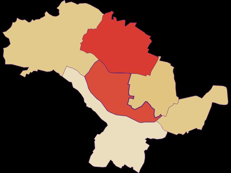 Population development since 1869 in Hohenruppersdorf