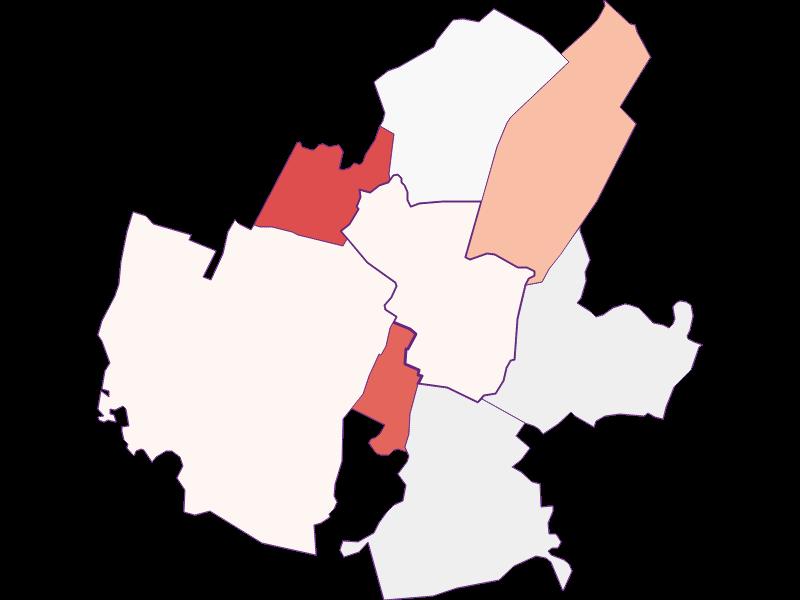 Activity rate in Leopoldsdorf im Marchfelde