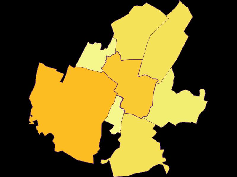 Population density in Leopoldsdorf im Marchfelde