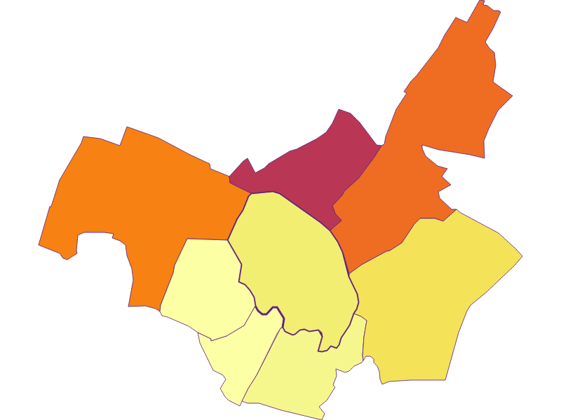 Population density in Markgrafneusiedl