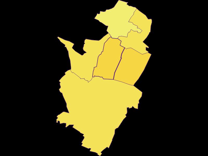 Population density in Neusiedl an der Zaya