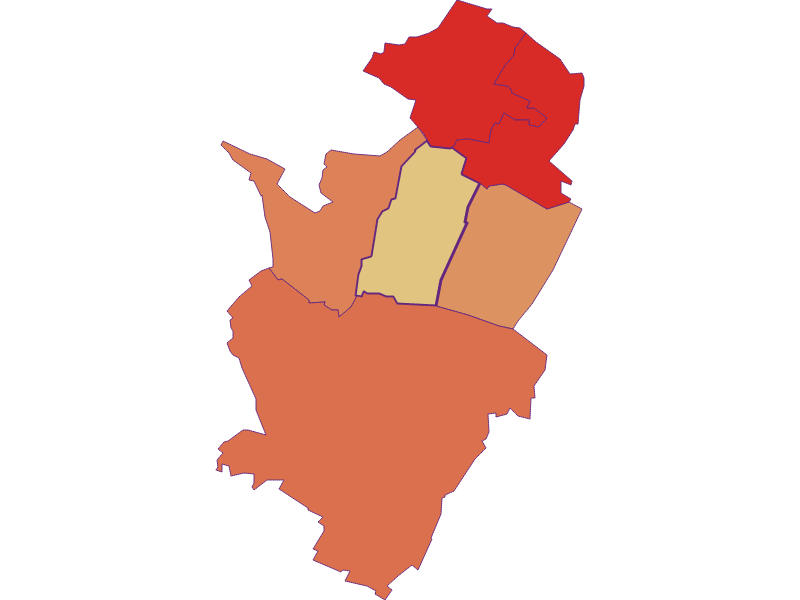 Population development since 1900 in Neusiedl an der Zaya