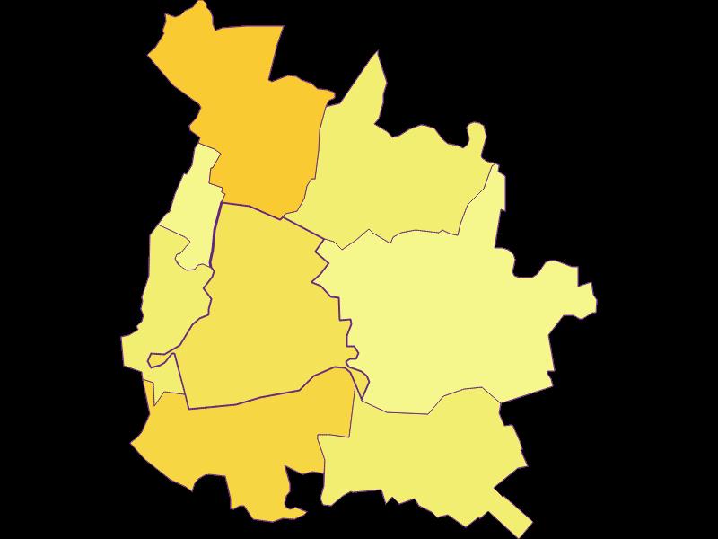 Population density in Orth an der Donau