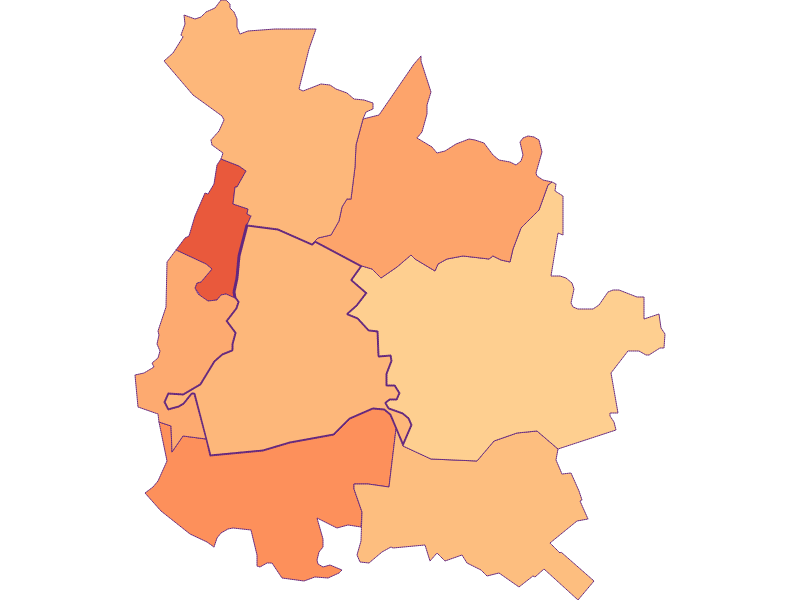 Household size in Orth an der Donau