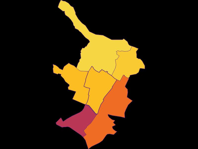 Плотность населения в Schönkirchen-Reyersdorf