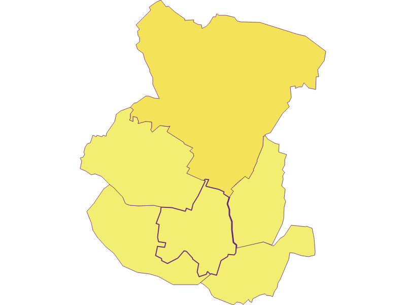Плотность населения в Spannberg